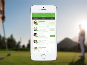 golf app matches golfers usa