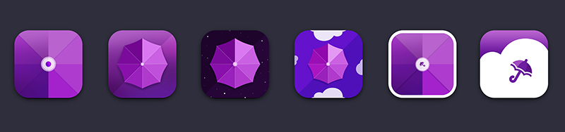 umbrellabox ios app design дизайн приложение iphone
