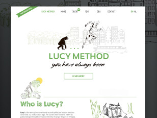 website design daria belyakova upwork lucy method