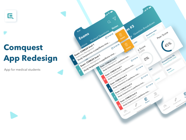 comquest app redesign